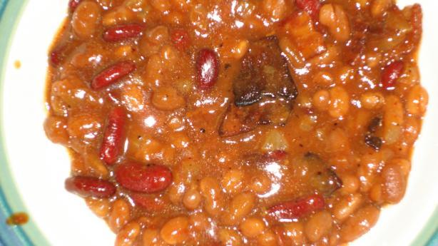 Sweet Bourbon Baked Beans