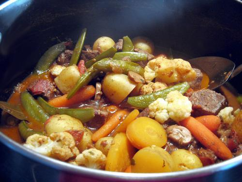 Beef & Vegetables