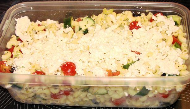 Fresh Greek Pasta Salad