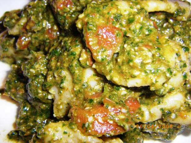 Sicilian Tomato Pesto