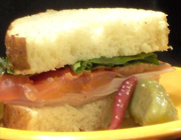 Summer's Smoked Turkey Sandwich