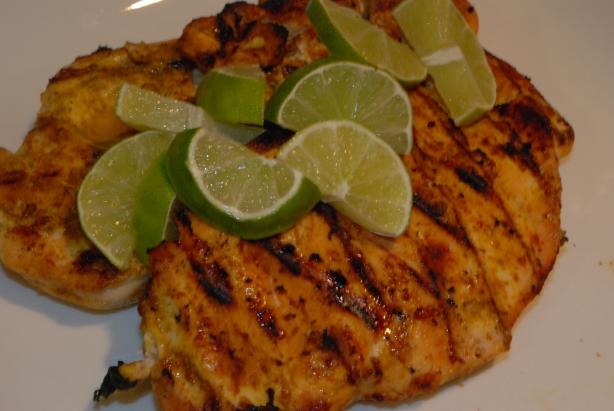 Spice-Rubbed Chicken Breasts