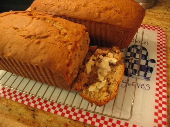 Old-Fashioned Fragrant Banana Bread