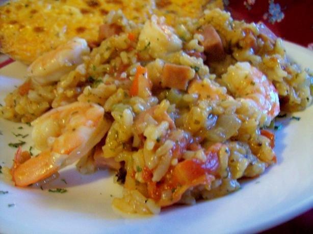 Creole Shrimp Jamalaya