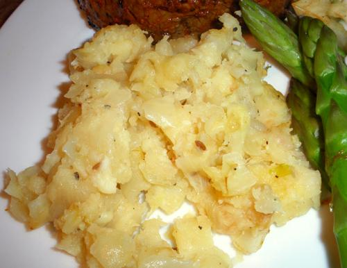 Parsnip and Celery Root Mash