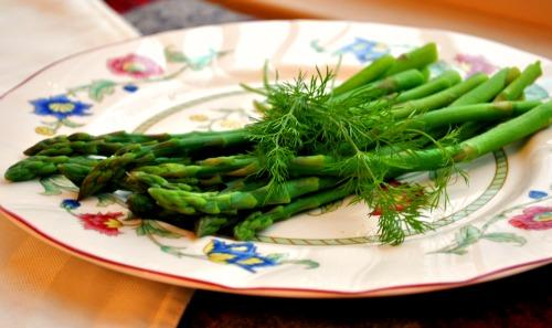 Acadia's Asparagus Side With Dill