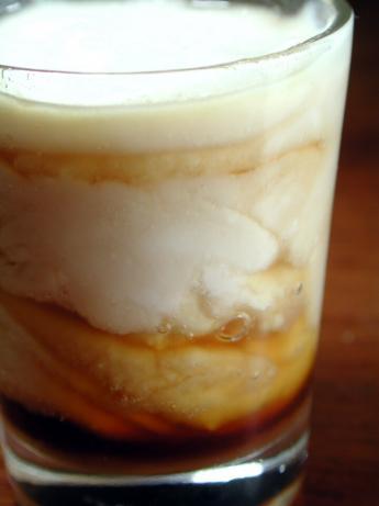 Espresso Marbled Panna Cotta