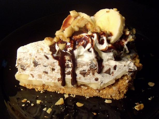 "Mayan Banana ""Ice Cream"" Pie"