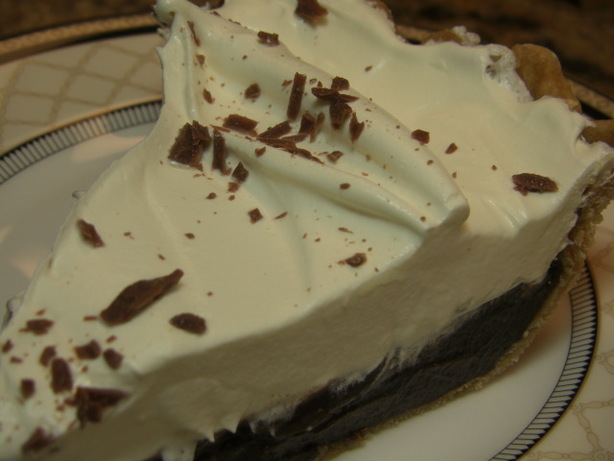 Nannys Chocolate Pie 5 Star Family Favorite