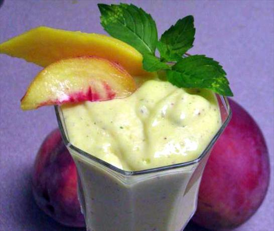 Mango, Peach Cream With a Hint of Mint
