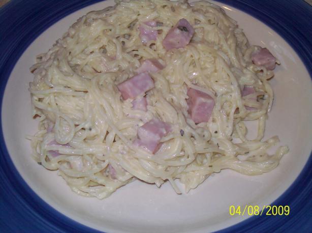 Victoria's Spaghetti Carbonara