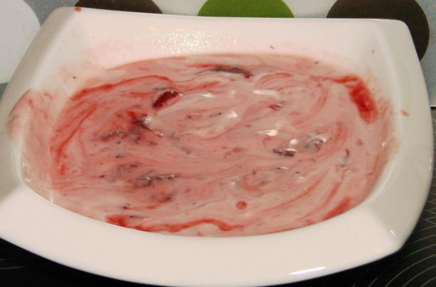 Red Fruit Jelly Dessert