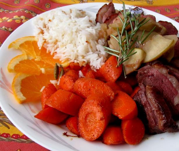 Cardamom Carrots #5
