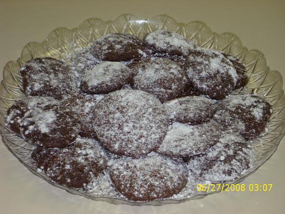 Devil's Chocolate Cookie Crinkles