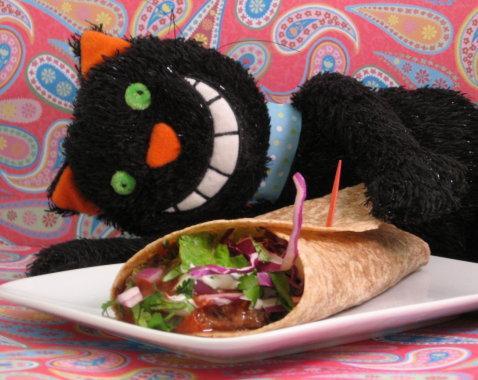 High Fiber Bean Tacos/Burritos