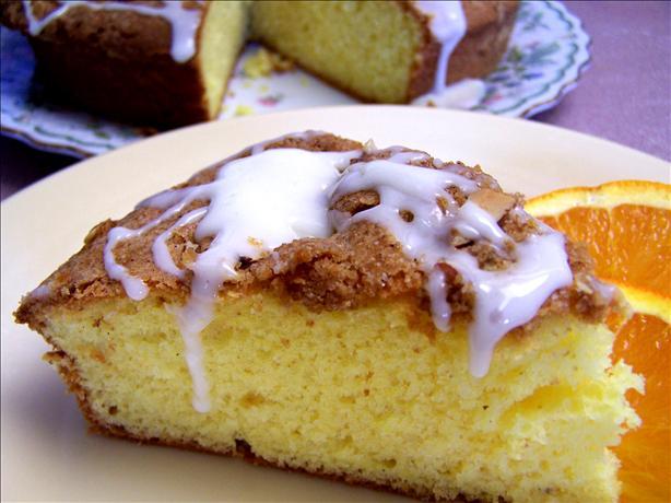 Orange Streusel Loaf Cake