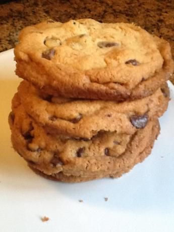 Giant Crisp Chocolate Chip Cookies