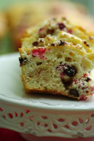 White Chocolate Cranberry Loaf (Light)