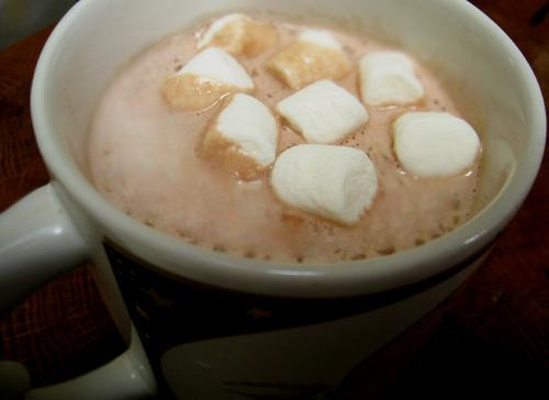 Dreamy Creamy Hot Chocolate (Paula Deen)