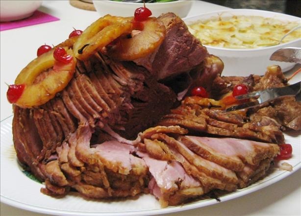Molasses Glaze for Holiday Ham