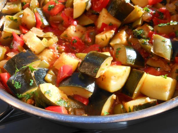 Tomato and Vegetable Mix (Pisto Manchego)
