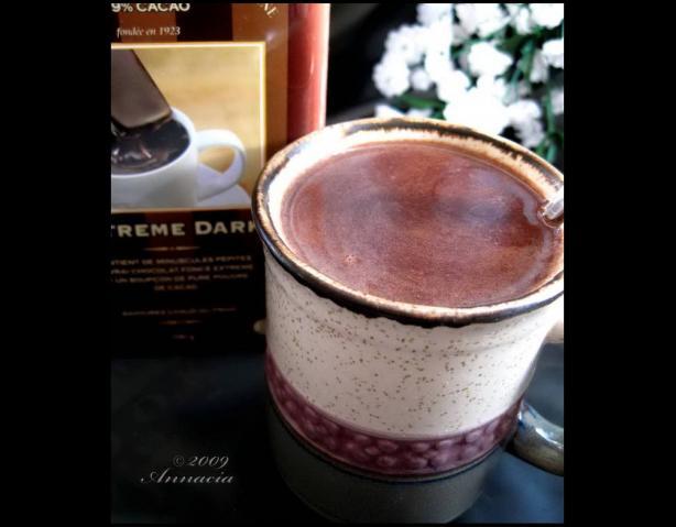 Hot Peanut Butter Chocolate