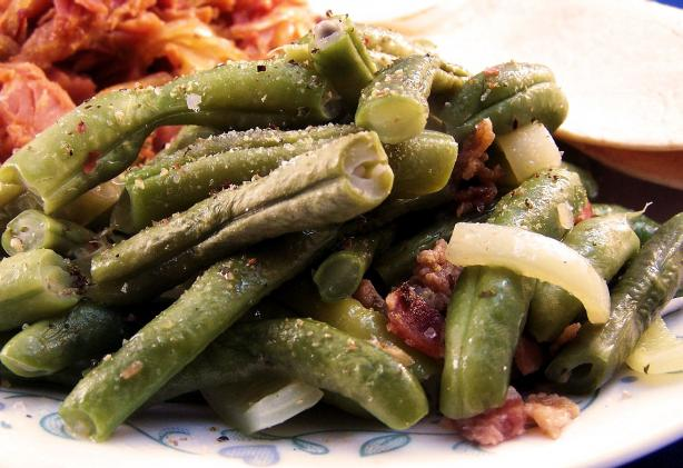 Quick Flavorful Green Beans