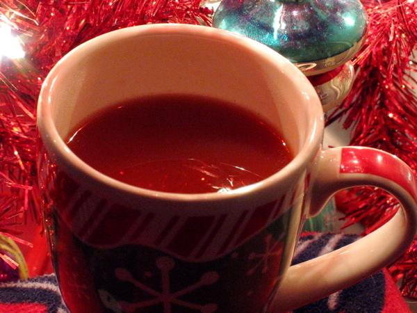 Holiday Hot Cinnamon Cider