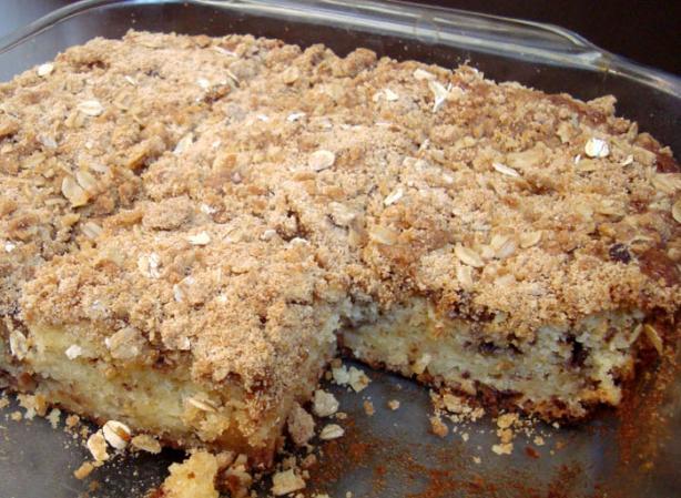 Vanilla and Cinnamon Crumb Cake