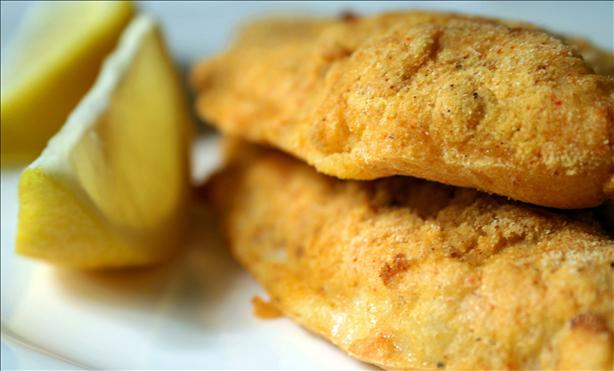 Easy Low-Fat Oven Fried Catfish