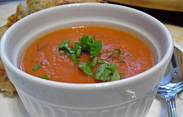 (Copycat) La Madeline's Tomato Basil Soup
