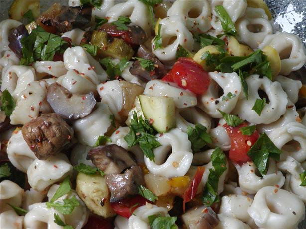 Grilled Veggie Tortellini Salad