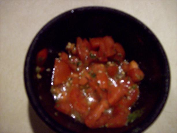 Uncooked Tomato Sauce