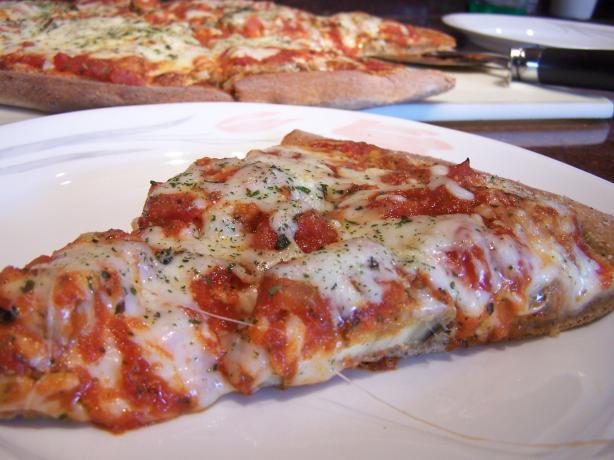 Eggplant (Aubergine) Parmesan Pizza