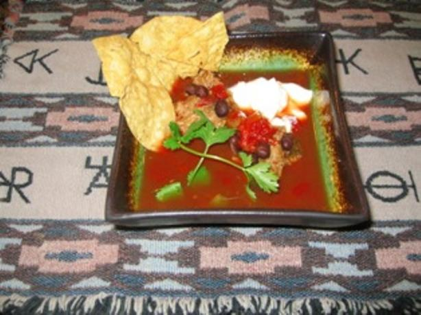 Southwest Drunken Meatball Soup (Abondigas Borrachas Sopa)