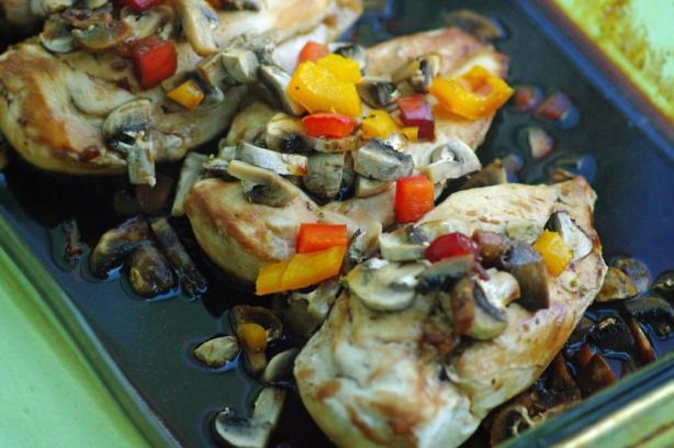 Oriental Chicken & Mushrooms (Ww)