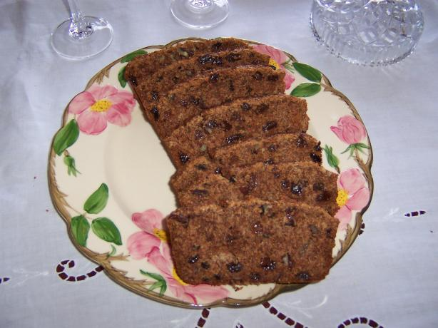 Raisin, Cinnamon, Pecan Quick Bread