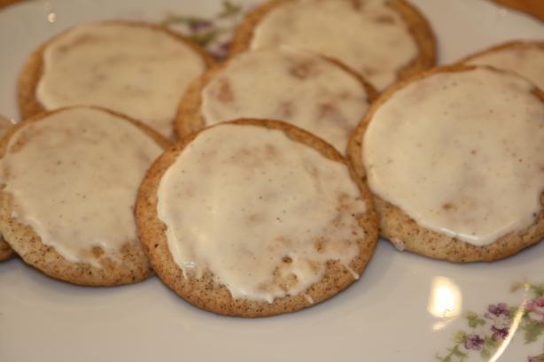 Eggnog Chai Sugar Cookies