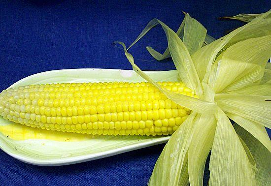 Perfect Roasted Corn on the Cob