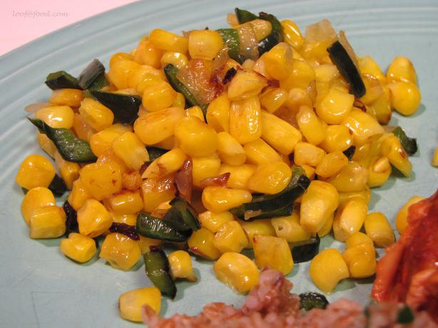 Corn and Chile Succotash