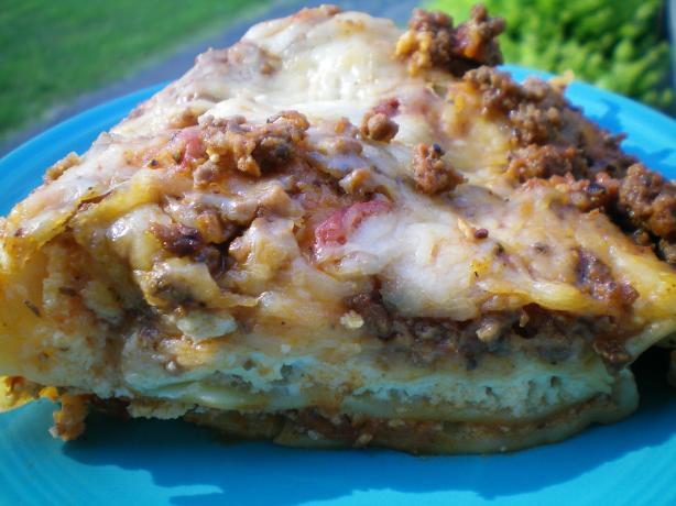 Ultra Quick Lasagna