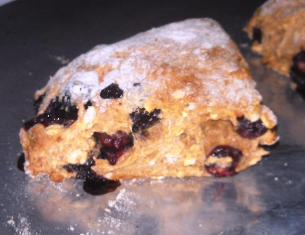 Easy Blueberry Almond Scones