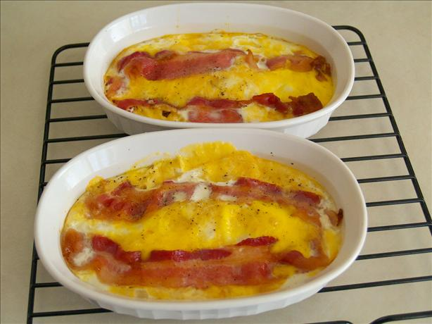 Low Stress Baked Eggs