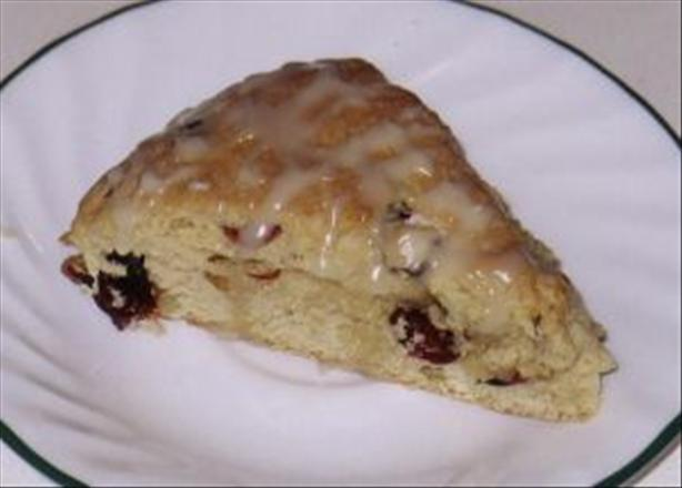 Cranberry Maple Nut Scones