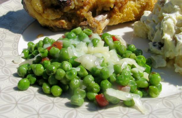 Dilled Green Peas (Tilliherneet)