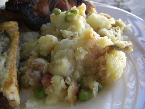 Araka (Peas, Potatoes & Dill)