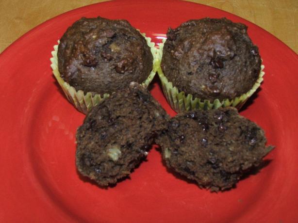 Chocolaty Decadence Banana Muffins