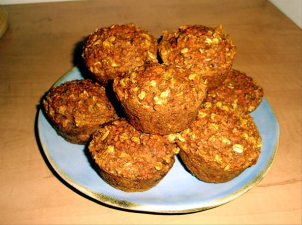 Healthy Ginger Carrot Muffins