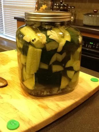 Kittencal's Easy Refrigerator Kosher Garlic-Dill Pickles