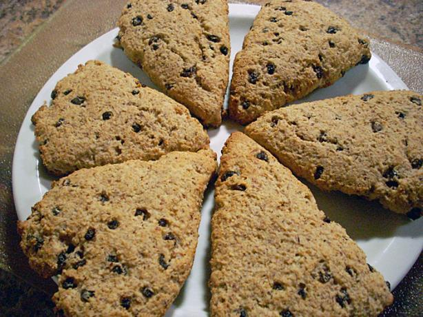 Chef Joey's Hazelnut and Currant Scones